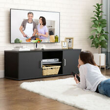 Modern TV Unit Cabinet Stand 120cm Living Room Widescreen Storage System Drawers