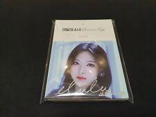 LOONA Olivia Hye Singed album, Autographed RARE