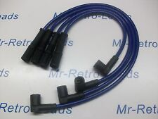 BLUE 8MM PERFORMANCE IGNITION LEADS FIAT CINQUECENTO SEICENTO 1.1 SPORTING HT..