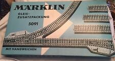 Vintage Marklin Ho 5091 Train Railroad Track Original Empty Box Only