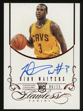 2012-13 Panini Flawless Ruby Dion Waiters RC Rookie AUTO 6/15 Cavaliers