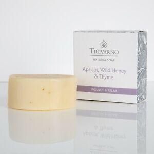 Trevarno Apricot, Wild Honey & Thyme Soap 75g