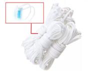ELASTIQUE rond Blanc , mercerie,  3 mm x 3 m ( Idéal création masque )