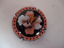 capsule Pierre Mignon, cercle rose contour noir, N°77a