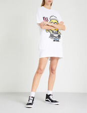 CHOCOOLATE GIRL'S X MINIONS PHIL PRINT LONG TEE  Size: XXS