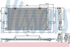 Nissens Condenser 94652 Fit with Rover 75