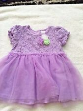 Guess girls 24 months dress purple flowers floral 2T spring Easter church