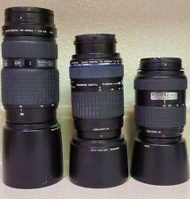 Olympus Micro 4/3 DSLR Lens (lot of 3)
