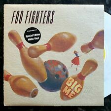 """Foo Fighters - Big Me / Floaty / Gas Chamber - Ex Con White Vinyl 7"""""""
