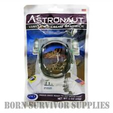 ASTRONAUT FREEZE-DRIED SPACE ICE CREAM - VANILLA SANDWICH Food Ration Pack Gift