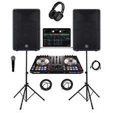 Pioneer DJ System DDJ-SR2/Yamaha DBR15 Complete Professional DJ System