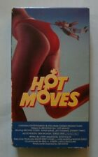 Hot Moves (VHS 1985) Michael Zorek Monique Gabriel Teen Comedy Sleaze