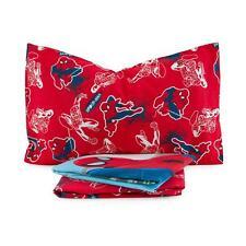 Completo lenzuola Spiderman Ragnatela Marvel in flanella Singolo una piazza Q166