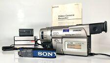 Sony CCD-TRV37 Video Hi 8 Handycam VISION Registratore Videocamera Bundle Night Shot