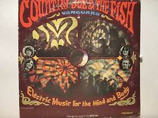 Country Joe & The Fish  Vanguard 9244  Electric Music  First Press Mono Silver