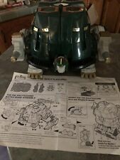 1994 Bandai Mighty Morphin Power Rangers Tor The Shuttle Zord Complete W/ Instru
