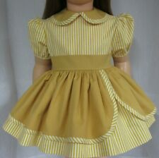 Repro of 1959 Ideal Patti Playpal RARE Gold and White striped Dress (NO DOLL)