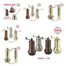 Copper Coffee Spice Grinder Turkish Salt Pepper Mill Home Kitchen Accessories