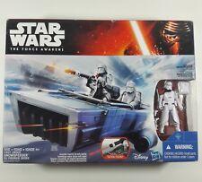 STAR WARS: First Order Snow Speeder W/Snow Trooper Officer-2015-NIB