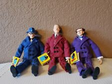 Dick Tracy Soft Action Figure by Applause (Itchy, Pruneface, Flattop) With Tags
