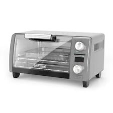 Black + Decker Crisp N Bake Air Fry Digital 4-Slice Toaster Oven NEW