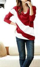 Unbranded Cotton Striped Tops & Blouses for Women