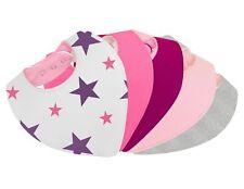 Bavoir bandana bébé fille - doublé coton éponge et polaire