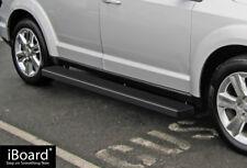 """Satin Black 6"""" iBoard Side Step Nerf Bar Fit 09-18 Dodge Journey"""