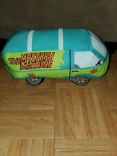 "Toy Factory Scooby Doo The Mystery Machine Van Car Stuffed Plush 12"""