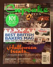Cupcake Heaven Best British Bakers Recipes Halloween Autumn 2015 FREE SHIPPING