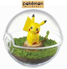 RE-MENT Pokemon Terrarium Collection Pocket Monsters Ball Case Figure 1 Pikachu
