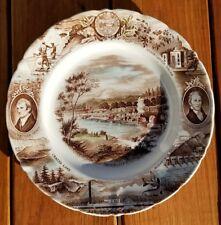 Vintage - The Oregon Plate Lewis & Clark , Meier & Frank Johnson Bros - England