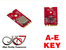 Carte Contrôleur M.2 - M2 NGFF E ou A Key vers MicroSD - Micro SD SDHC SDXC 2To