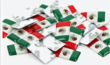 Set of 4 New Small Mexican Flag Decals MEXICO Flag Sticker Free Shipping