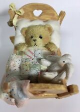 "Cherished Teddies #911356 Baby ""Cradled With Love"""