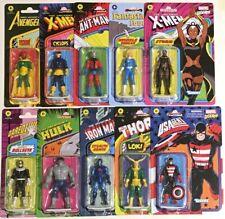 "New- Marvel Legends 3.75"" Retro Comic Figure Kenner Hasbro X-men Spiderman Thor"