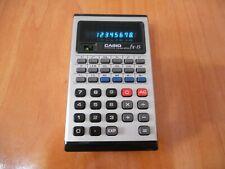 Casio FX-15 - Scientific Calculator - Vintage VFD - 100% Working Good Condition