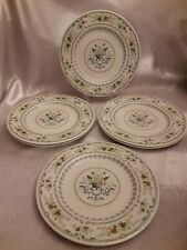 "Royal Doulton Provencial 8"" Salad Plates Set of Six England"