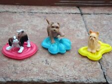 Barbie Wee 3 Three Friends Doll Acces~Dream Rain Pet Dog Lot of 3 Adorable Pups