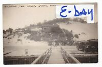 1930's RPPC BIG DUNE STATE PARK DUNES CARS VINTAGE PHOTO POSTCARD INDIANA OLD !!