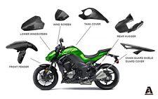 PrePreg Carbon Fiber Kawasaki Z1000 ZX10R Fender Hugger Chain guard Windscreen
