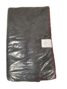 "Rothco 60"" x 80"" Gray 55% Wool Emergency Fire Retardant Rescue Blanket"