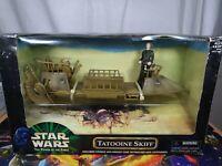 Tatooine Skiff Star Wars Power Of The Force Vehicle Hasbro 1998 Aus Seller