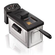 Freidora Electrica Profesional Camarón Pollo Con Capacidad De 3 Litros De Aceite