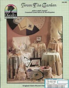 For the Garden in Counted Cross Stitch & Needlepoint Charter Publishing Co CP203