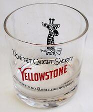 Yellowstone Bourbon Yella Fella Rocks Glass