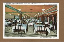 "Los Angeles,CA California,Hotel Rosslyn Dining Room ""West's Best Known Hotel"""