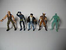 "Wolverine Origins and X-Men 3.75"" Scale Figure Lot w. Walmart Excl. Wolverine"