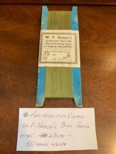 New listing Vintage W.F. Homer's Silk Fishing Line 25lbs