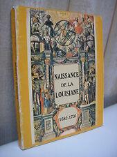 Catalogue d'exposition NAISSANCE de la LOUISIANE 1982
